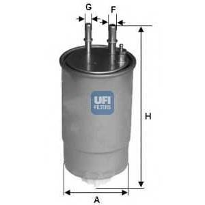 UFI 24.ONE.01 Топливный фильтр