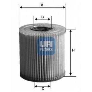 UFI 25.009.00 Масляный фильтр