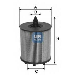 UFI 25.024.00 Масляный фильтр