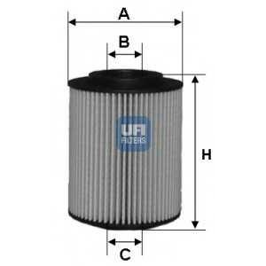 UFI 25.027.00 Масляный фильтр