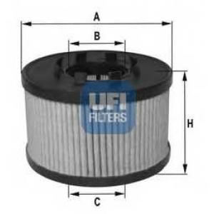 UFI 25.033.00 Масляный фильтр