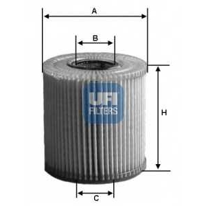 UFI 25.040.00 Масляный фильтр