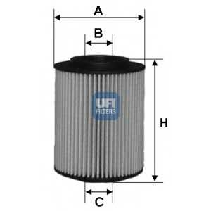 UFI 25.050.00 Масляный фильтр