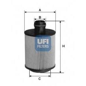 UFI 25.061.00 Масляный фильтр