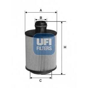 UFI 25.088.00 Масляный фильтр