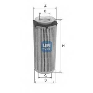 UFI 25.096.00 Масляный фильтр