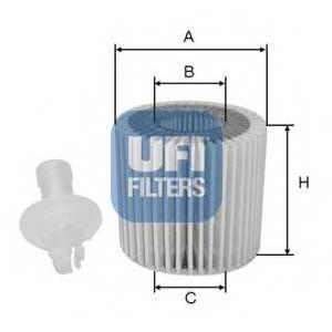 UFI 25.116.00 Масляный фильтр