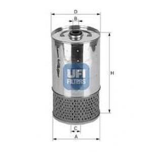 UFI 25.528.00 Масляный фильтр