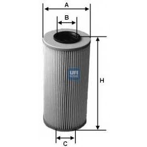 UFI 25.583.00 Масляный фильтр