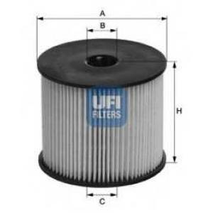 UFI 26.003.00 Топливный фильтр