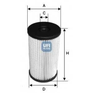 UFI 26.007.00 Топливный фильтр