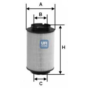 UFI 26.014.00 Топливный фильтр