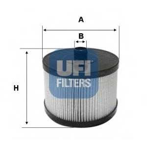 UFI 26.022.00 Топливный фильтр