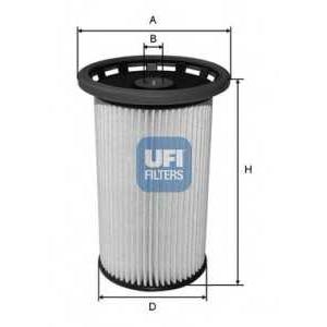UFI 26.025.00 Топливный фильтр