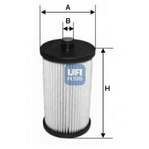UFI 26.057.00 Топливный фильтр