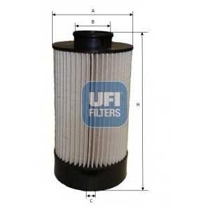 UFI 26.072.00 Топливный фильтр