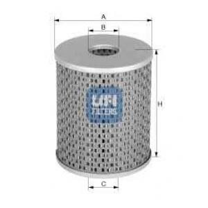 UFI 26.670.00 Топливный фильтр
