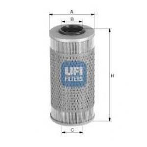UFI 26.687.00 Топливный фильтр