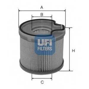 UFI 26.691.00 Топливный фильтр