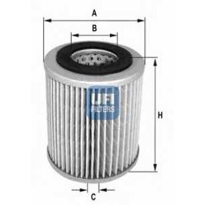 UFI 27.169.00 Воздушный фильтр