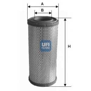 UFI 27.356.00 Воздушный фильтр