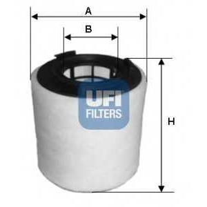 UFI 27.621.00 Воздушный фильтр