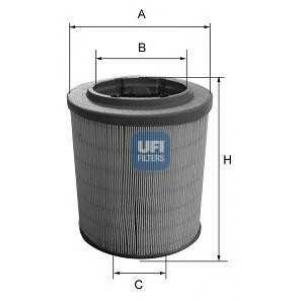 UFI 27.628.00 Воздушный фильтр