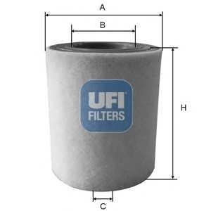 UFI 27.A48.00 Воздушный фильтр