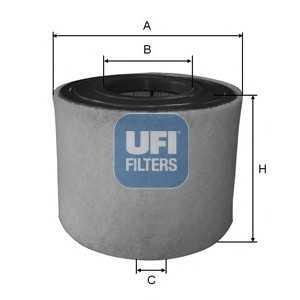 UFI 27.A54.00 Воздушный фильтр