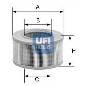 UFI 3011801 Фильтр воздушный Fiat Punto, Doblo 1.2