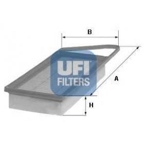 UFI 30.153.00 Воздушный фильтр