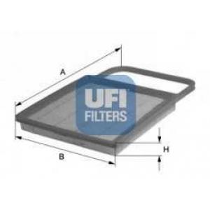 UFI 30.345.00 Воздушный фильтр