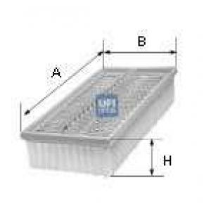 UFI 30.498.00 Воздушный фильтр