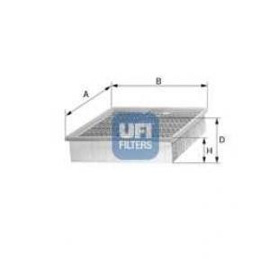 UFI 30.893.00 Воздушный фильтр