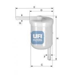 UFI 31.003.00 Фильтр топливный