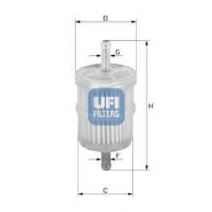 UFI 31.028.00 Топливный фильтр