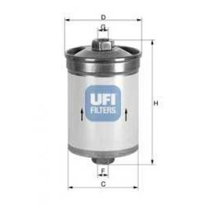 UFI 31.502.00 Топливный фильтр