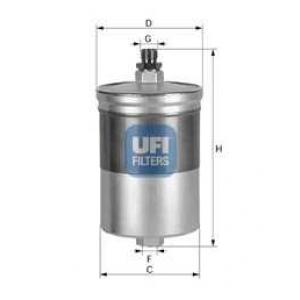 UFI 31.505.00 Топливный фильтр
