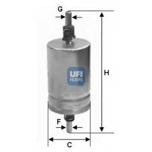 UFI 31.510.00 Топливный фильтр