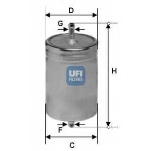 UFI 31.583.00 Топливный фильтр