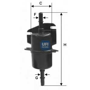 UFI 31.740.00 Топливный фильтр