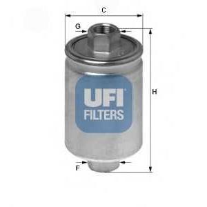 UFI 31.741.00 Топливный фильтр