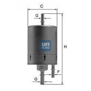 UFI 31.831.00 Топливный фильтр