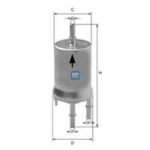 UFI 31.832.00 Фильтр топлива