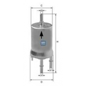 UFI 31.833.00 Топливный фильтр