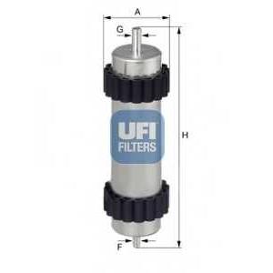 UFI 31.946.00 Топливный фильтр
