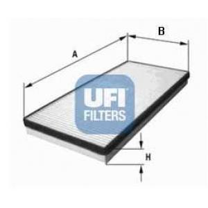 UFI 53.015.00 Фильтр, воздух во внутренном пространстве