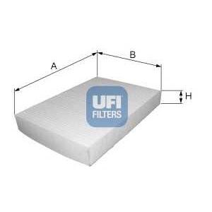 UFI 53.030.00 Фильтр, воздух во внутренном пространстве