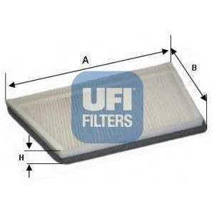 UFI 53.044.00 Фильтр, воздух во внутренном пространстве