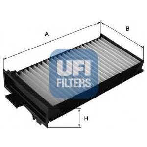 UFI 53.104.00 Фильтр, воздух во внутренном пространстве